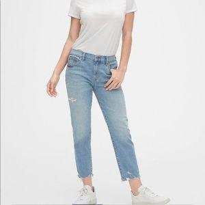 gap Destructed Girlfriend Jeans sz 28T